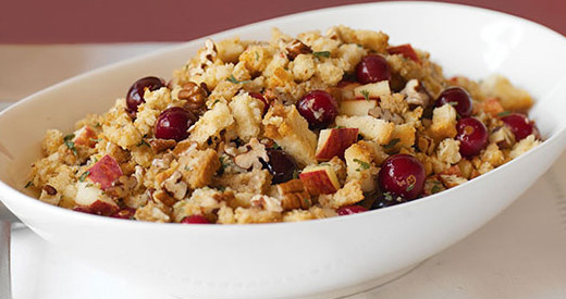 Apple, Pecan and Cranberry Stuffing